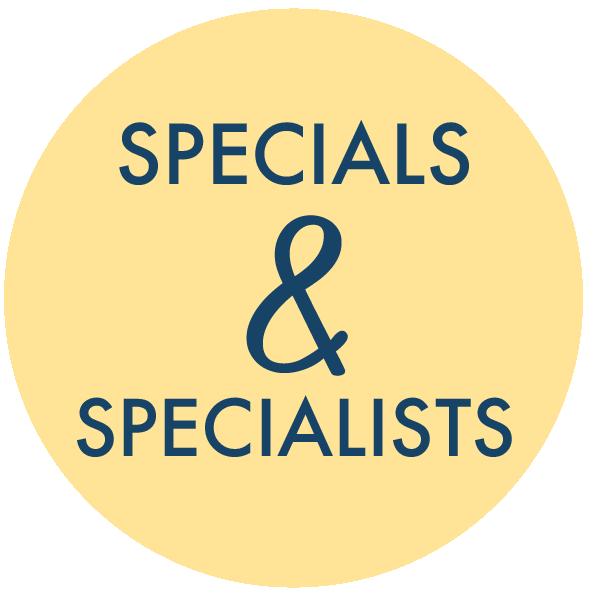 Specials & Specialists